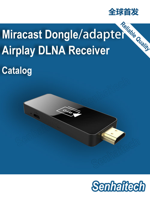 Miracast Dongle adapter, Airplay Receiver, TV Dongle wireless HDMI Display
