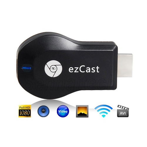 Miracast Dongle Adapter, DLNA Airplay Receiver, HDMI Smart TV Dongle – EZCast M2
